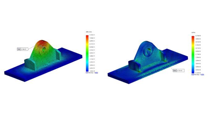Stress, displacements and strain plots - eSubsea
