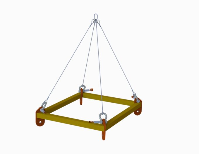 Lifting frames and baskets - eSubsea