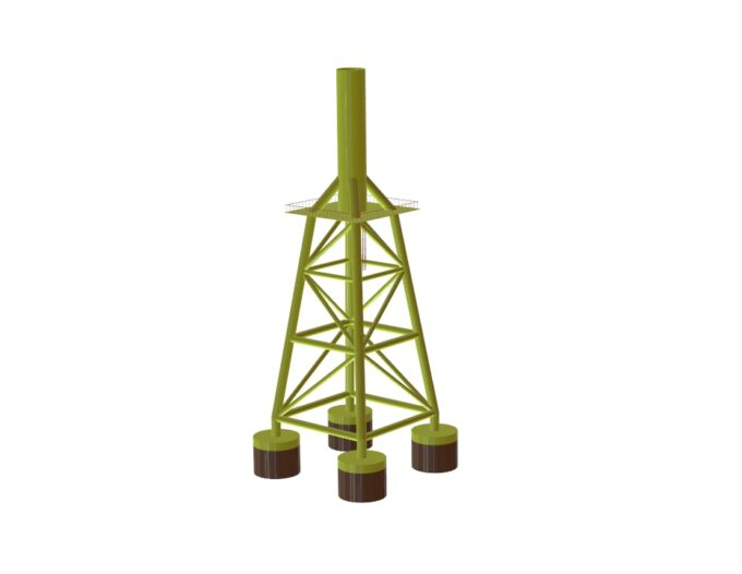 Offshore Wind Jacket Structure - eSubsea