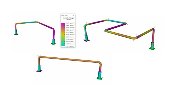 Jumper Spool Pipe Stress Analysis