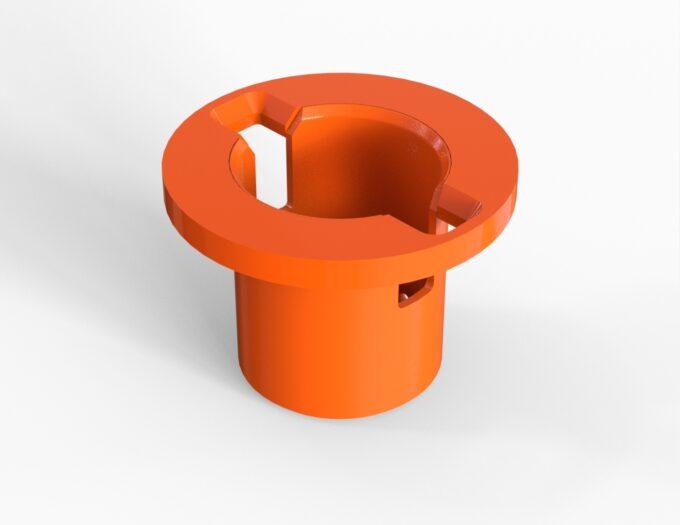 ROV Bucket for Torque Tool standard dimensions class 4