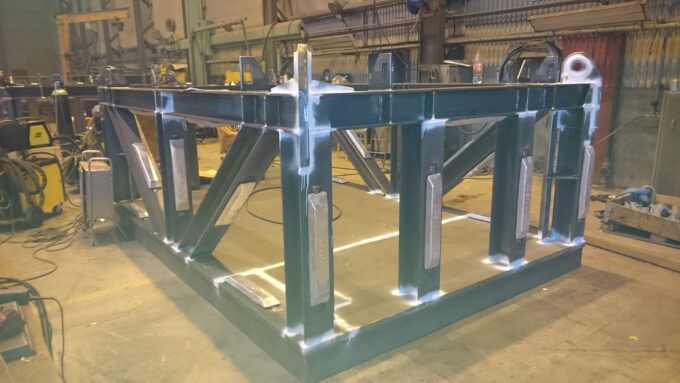 subsea clump weights fabrication